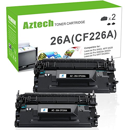 Aztech Compatible Toner Cartridge Replacement for HP 26A