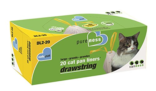 Petmate Boxed Cat Litter Pan Liners 15 Count Medium Atcivni