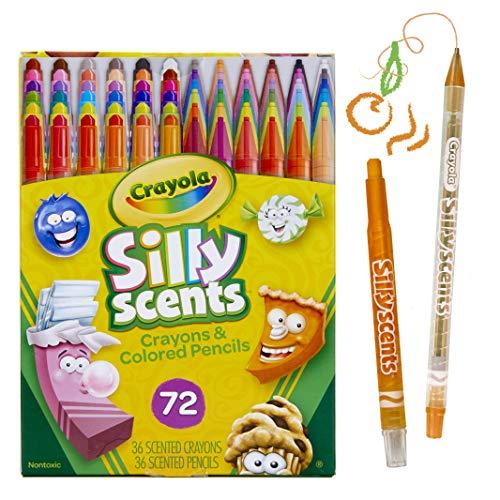 Crayola Metallic Fx Crayons Coloring Page | Crayola Twistables Scented Crayons Colored Pencils 72 Count Atcivni
