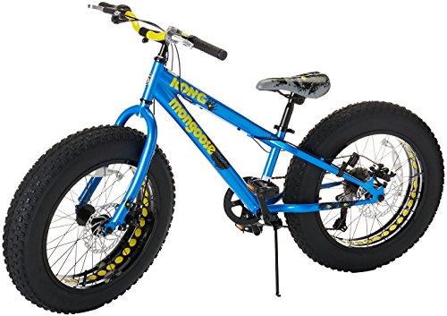 Mongoose Logan Boy S Fat Tire Bicycle Grey 24 Atcivni