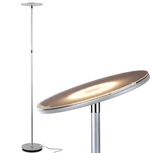 Bright Minimalist Amp Contemporary Uplight Silver