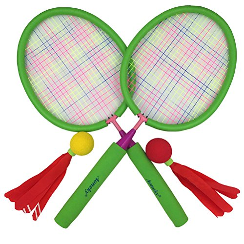 Aoneky Kids Badminton Set, Toddler Outdoor Toys by Age 2 ...